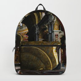 Giovanni Paolo Panini Masterpiece: St. Peter's Basilica Backpack