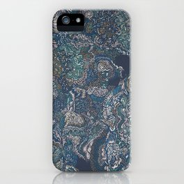 Under the surface lies the truth. iPhone Case