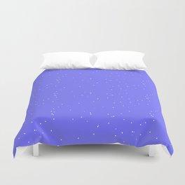 Lavender Blue Shambolic Bubbles Duvet Cover