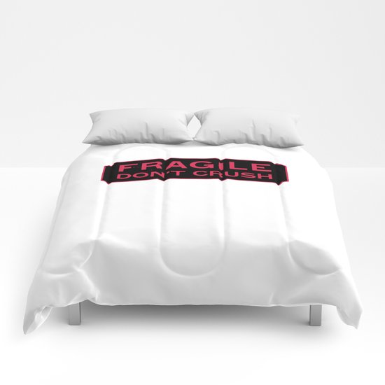 don't crush  Comforters