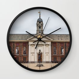 Royal Hospital Chelsea Pensioners Historic Building London England Wall Clock
