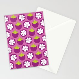 Dotty Mangosteen - Singapore Tropical Fruits Series Stationery Cards