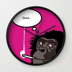 Pop Icon - Bonobo 2 Wall Clock
