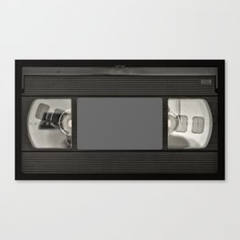 Retro 80's objects - Videotape Canvas Print