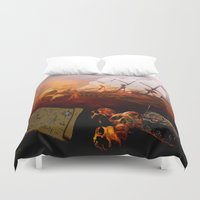 pirates Duvet Covers featuring Pirates  by valzart
