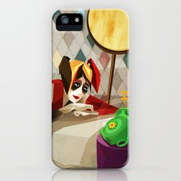 Hangin' On The Telephone iPhone Case