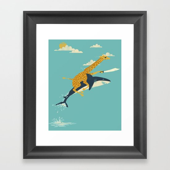 Onward! Framed Art Print