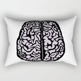 Brain (transparent) Rectangular Pillow