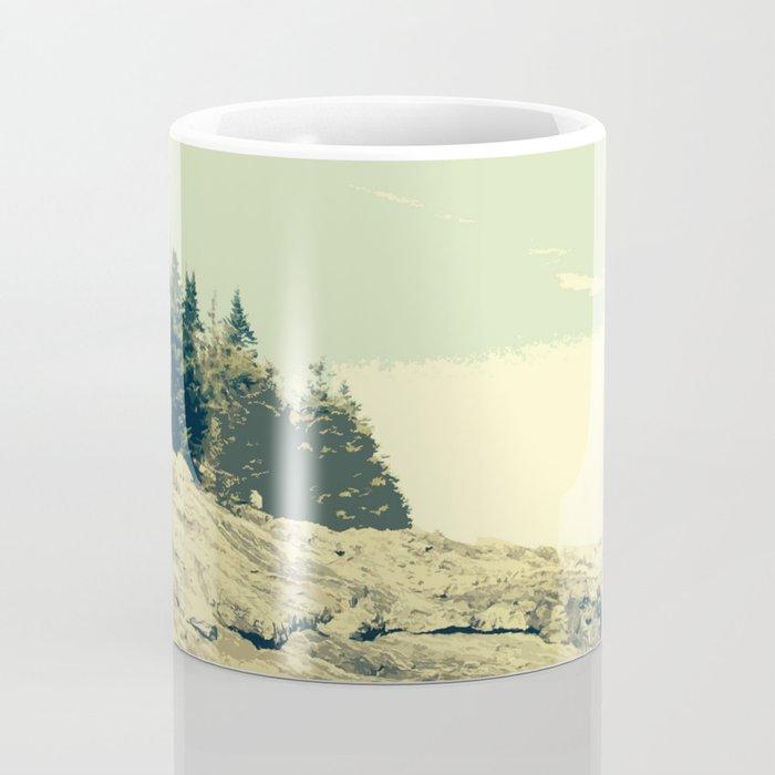 Ocean Point, East Boothbay Coffee Mug