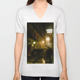 Nights in Bilbao Unisex V-Neck