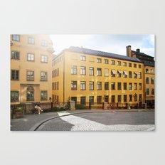 Yellow Swedish Sunrise Canvas Print