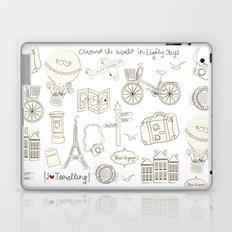 I {❤} Travel Laptop & iPad Skin