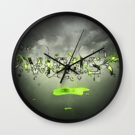 Toxic Wall Clock