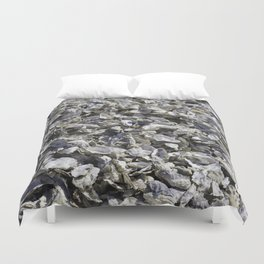 Shucked Oyster Shells Duvet Cover