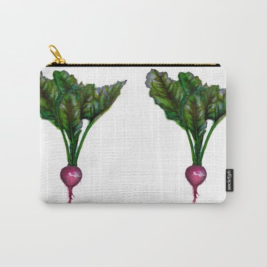 Rooted: The Radish Carry-All Pouch