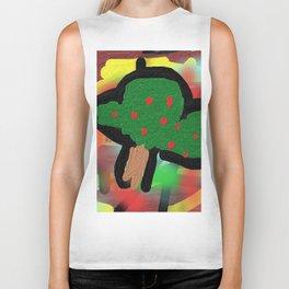 The small apple tree Biker Tank