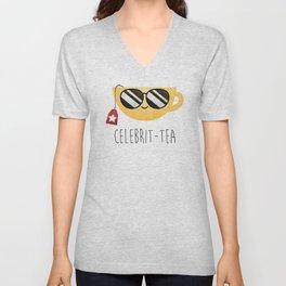 Celebrit-tea Unisex V-Neck