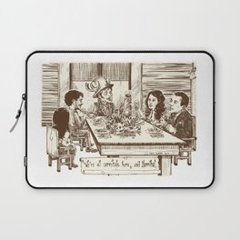 We're all cannibals here Laptop Sleeve