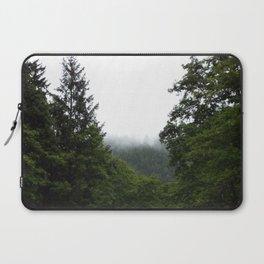 Forest Fog Laptop Sleeve