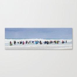 SURF SPACE Canvas Print