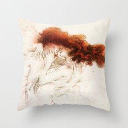 Fire&Gasoline Throw Pillow