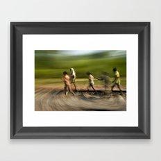 painting life No.3 Framed Art Print