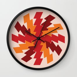 Rusty Ziggies Wall Clock