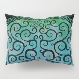 Tree of Life - Cool Blue Pillow Sham
