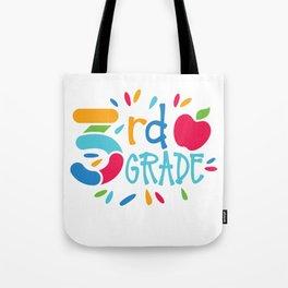 3rd Grade Tote Bag