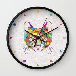 RainboCat Wall Clock