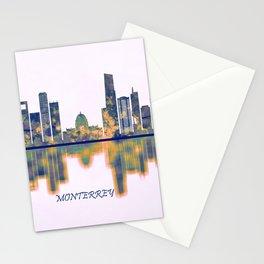 Monterrey Skyline Stationery Cards