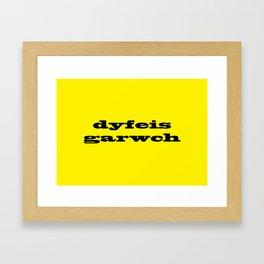 Dyfeisgarwch - Innovation Framed Art Print