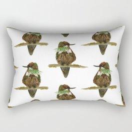 Festive Coquette Rectangular Pillow