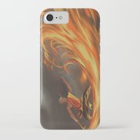 aang iPhone & iPod Cases featuring Avatar Aang by Zack Coleman