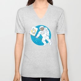 from outer space Unisex V-Neck