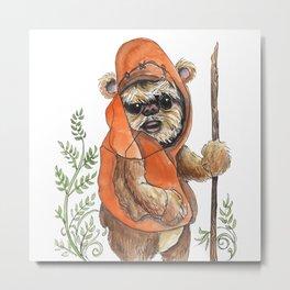 Feisty Bear-creature Metal Print
