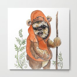 Feisty Bear-creature Metal Print
