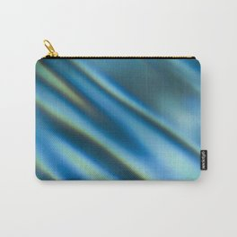 Blue Water Ripples Carry-All Pouch
