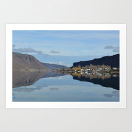 The Reflection Art Print