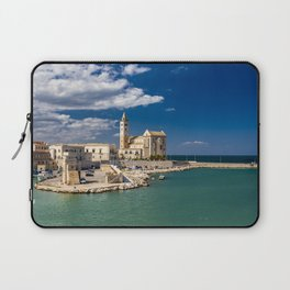 The beautiful Romanesque Cathedral Basilica of San Nicola Pellegrino, in Trani Laptop Sleeve