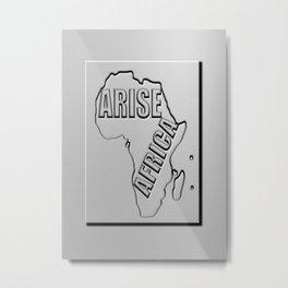 Arise Africa Metal Print