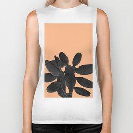 Black Pastel Orange Cacti Vibes #1 #plant #decor #art #society6 Biker Tank