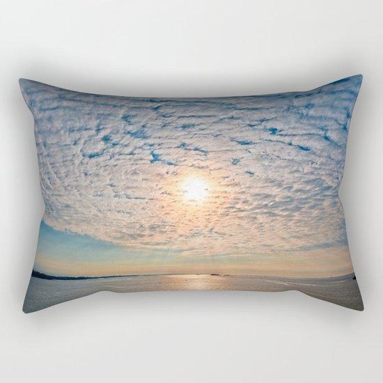 Saint-Malo Sunset Rectangular Pillow