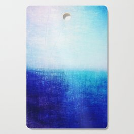 blue abstract Cutting Board