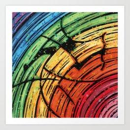 Orixás - Oxumaré Art Print