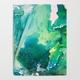 Environmental Importance, Deep Sea Water Bubbles Poster