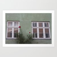 copenhagen Art Prints featuring Copenhagen by Gemma Parsons