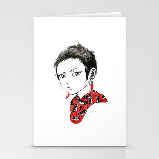 Paprika Girl Stationery Cards