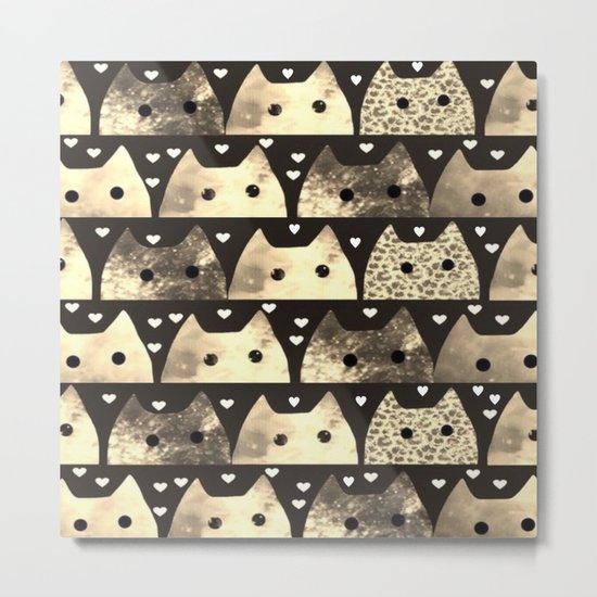 cats-183 Metal Print