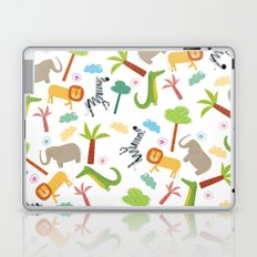 A HAPPY DAY  IN JUNGLE Laptop & iPad Skin